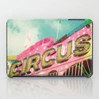 circus iPad Cases featuring Circus by Cassia Beck