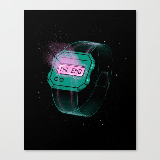 End of Time Canvas Print