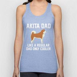 Funny Akita Dad Unisex Tank Top