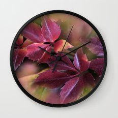 fall is coming -12- Wall Clock