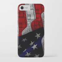 american iPhone & iPod Cases featuring American by Tracy66