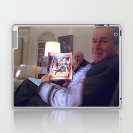 Bush the Warrior Laptop & iPad Skin