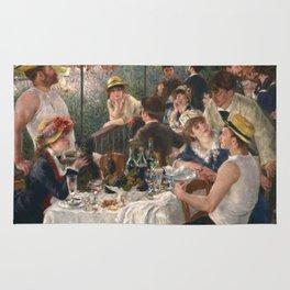 Auguste Renoir - Luncheon of the Boating Party (Le déjeuner des canotiers) Rug