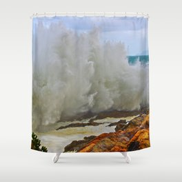 Super Wave Shower Curtain