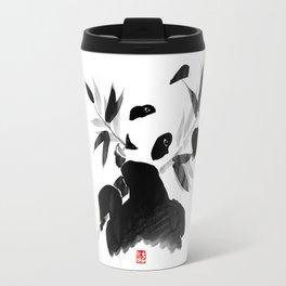 panda's lunch Travel Mug