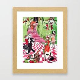 Hausu Framed Art Print