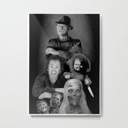 We are a happy family Metal Print