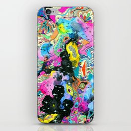 Cosmic Bloom iPhone Skin