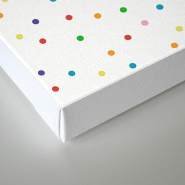Candy Repeat Canvas Print