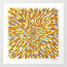 Roches #1 Art Print