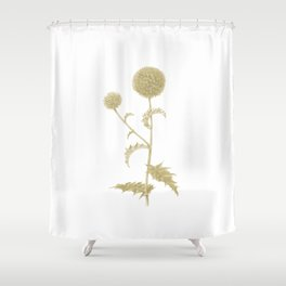 Botanical illustration 3 Shower Curtain