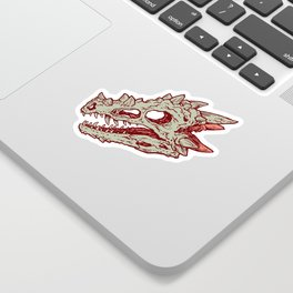 Hoard of the Gem Dragon | Ruby Sticker