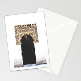 Alhambra Door Stationery Cards