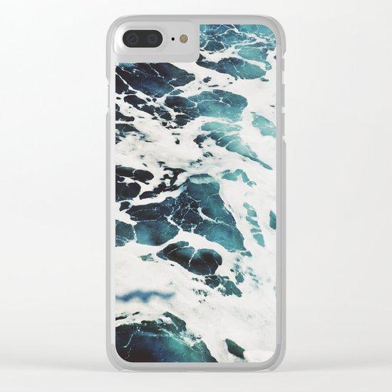 Dark Sea Clear iPhone Case