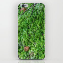 Moss in France iPhone Skin