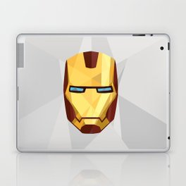 IronMan Fracture Laptop & iPad Skin