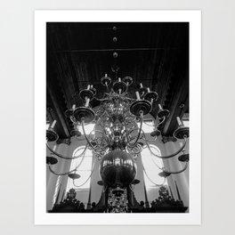 cadelabra Art Print