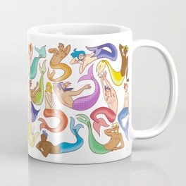 Mermen Coffee Mug