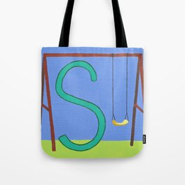 S is for Swing Tote Bag