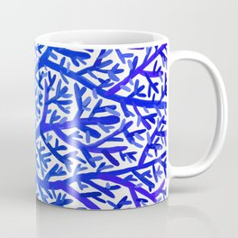 Fan Coral – Blue Ombré Coffee Mug