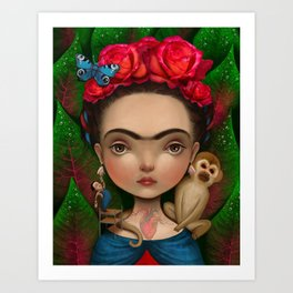 Dieguito and I Art Print