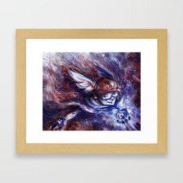The Compass Framed Art Print