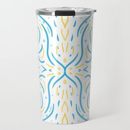 Symmetry Lines Summer Afternoon Travel Mug