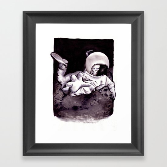 Bastard Sons In Space Framed Art Print
