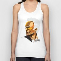 clint eastwood Tank Tops featuring Eastwood by zero Bounty