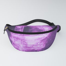 Russian Ruble symbol. Ruble Sign. Monetary currency symbol. Abstract night sky background. Fanny Pack