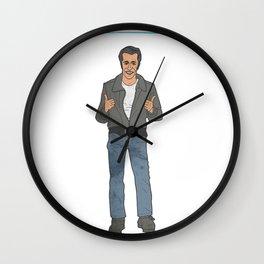 The Fonz Wall Clock