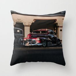 car show ii Throw Pillow