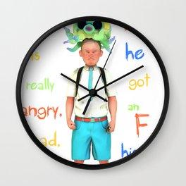 Angryocto - Joun's Math grade Wall Clock