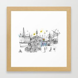 Brixton London Framed Art Print