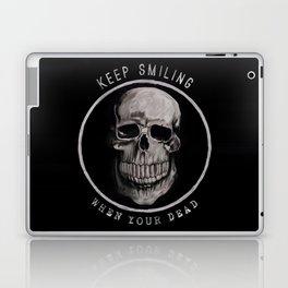Keep Smiling when your dead II Laptop & iPad Skin