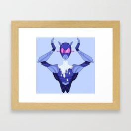 Bleeding Stars Framed Art Print