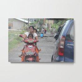 Bali People #2 Metal Print