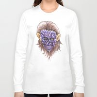 ape Long Sleeve T-shirts featuring Grape Ape by ronnie mcneil