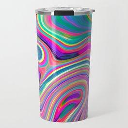 Candy pink melt Travel Mug
