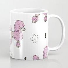 Cool colorful toy poodle puppy dog Mug