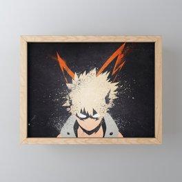 My Hero Academia Framed Mini Art Print