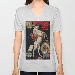 Vintage poster - Circus Unisex V-Neck