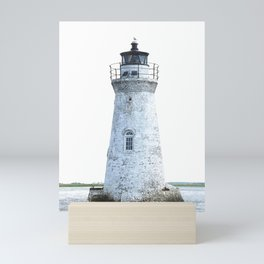 Lighthouse Illustration Mini Art Print