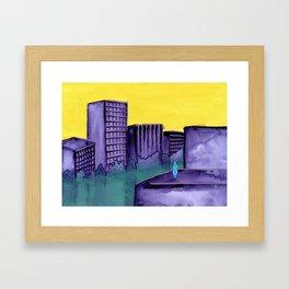 Contaminate Framed Art Print