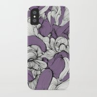 fabric iPhone & iPod Cases featuring Lavender Fabric by DuckyB