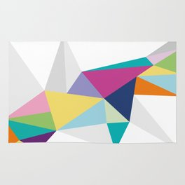 Triangle Brights Rug
