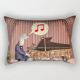 LA-LA-LA-Llama! Rectangular Pillow