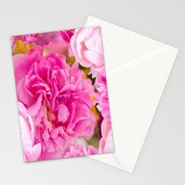 Large Pink Peony Flowers #decor #society6 #buyart Stationery Cards
