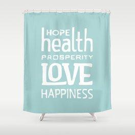 Wishing you... Shower Curtain