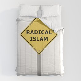 Radical Islam Warning Sign Comforters